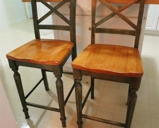 Tall bar/island height chairs