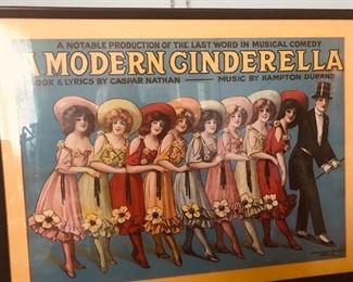 A modern Cinderella poster/print nook &lyrics by Caspar Nathan