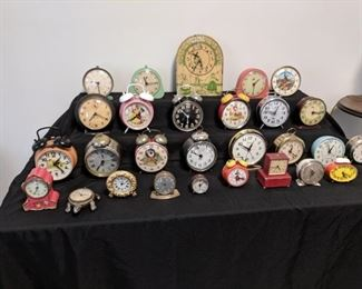 An amazing alarm clock collection