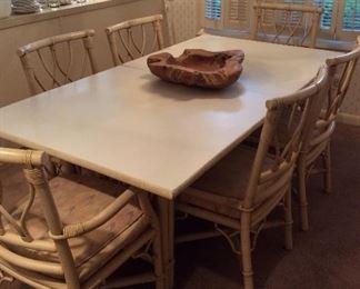 Very nice rattan casual dining set
