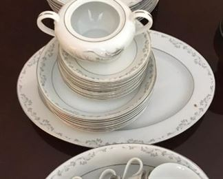 American Queen Fine China Monaco Dish set SGA003 https://www.ebay.com/itm/123796833846