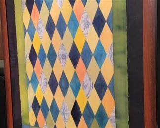 Tom Paul Willadsen New Orleans Artist Mixed Median Framed SGA009 Local Pickup https://www.ebay.com/itm/113777141733