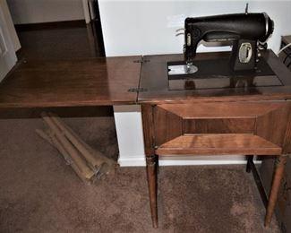 Vintage Kenmore Heavy Duty Sewing Machine Opened