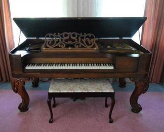 1860's Square Grand Piano