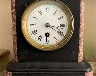 Pretty Marble Mantle Clock