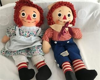 Original Raggedy Ann and Andy