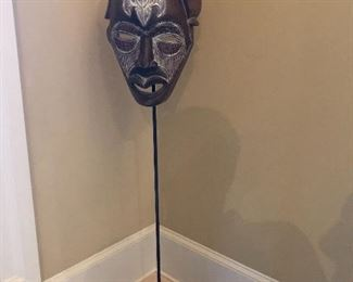 One of a kind original art - African mask.