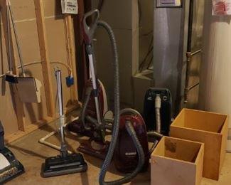 Vacuum and carpet cleaner