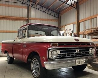 1966 Ford F100 : Beautiful all Original Classic Truck. Only 22,190 original miles