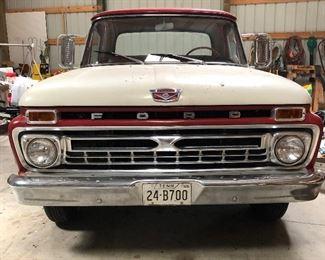 1966 Ford F100 : Beautiful all Original Classic Truck