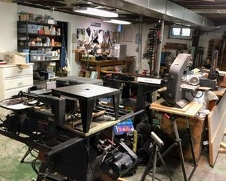 WOODSHOP tool area