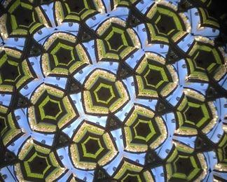Kaleidoscope view.
