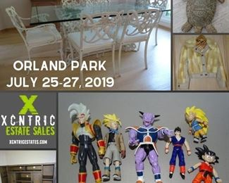 Orland Park Estate Sale. Furniture, home decor, clothing, Dragonball Z and more.