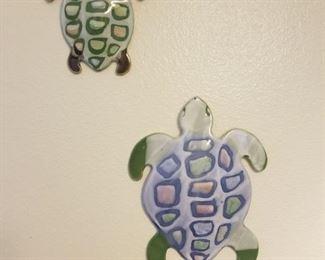 Sea turtle wall hangings