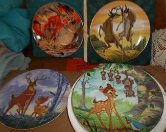 Disney Bambi collectible plates