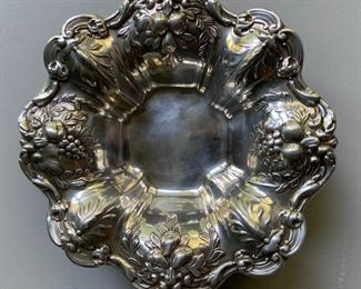 Francis I sterling silver nut dishes (set of 8)