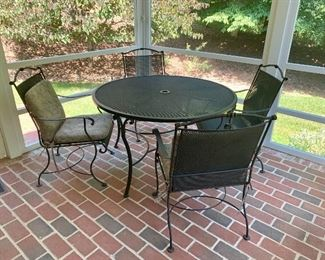 Nice patio furniture set - better quality.