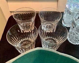 Lenox highball crystal glasses