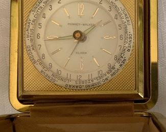 Phinney-Walker travel clock