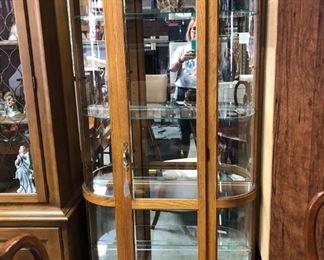 Glass curio
