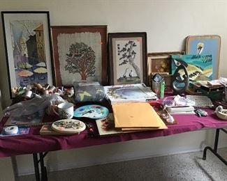 Decor, Sewing, Art etc