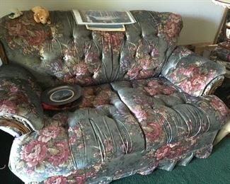 This is one of a couple of upholstered pieces.