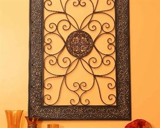 Ironwork decorative piece.