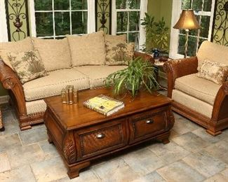 Taylorsville set, sofa, chair and coffee table.