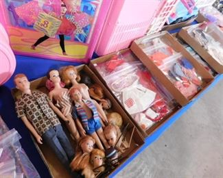 Vintage Barbie dolls and accessories