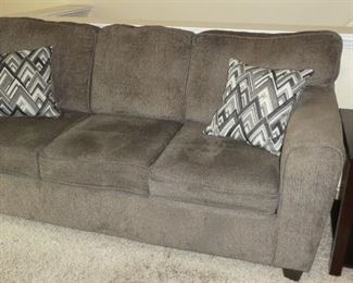 Couch and end table newer