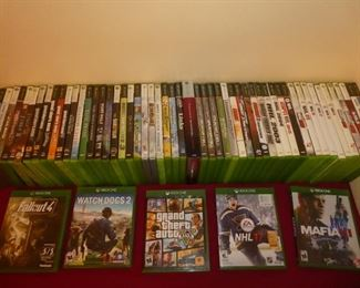XBOX 1 games XBOX 360 games