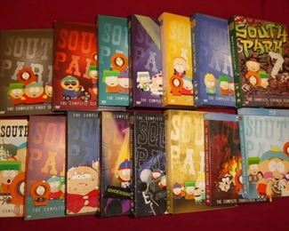 South Park DVD collection