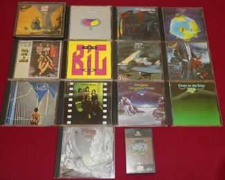 CD's Yes collection