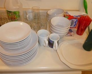 Dishes, cups, dishware