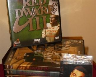 Red Dwarf DVD collection