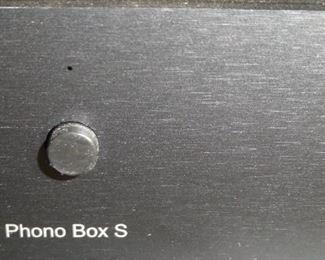 Phono BOX S amplifier very nice electronic