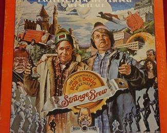 Bob & Doug McKenzie Strange Brew vinyl record