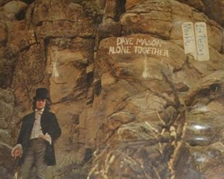 Dave Mason Alone Together 1st press, marble vinyl