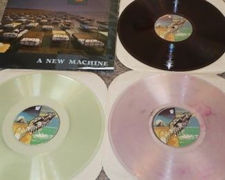 Pink Floyd A New Machine live colored vinyl rare