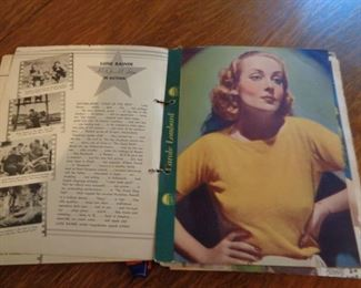 Vintage Movie Star Book