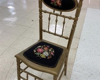 Nice Gilded Victorian Chair