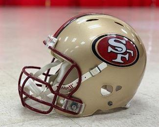 FULL SIZE SF 49ers Helmet!