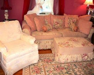 Comfy Sofas, Plush Chairs, Vintage Pieces