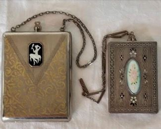 Two Ladies Compacts