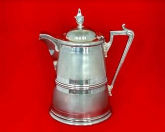 Victorian Silver-plated Pitcher, Circa 1865