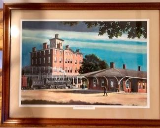 Wytheville Train Station by Ken Johnson - Limited Edition Print
