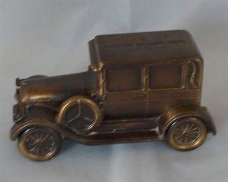 Farmers National Bank, Salem, Va. Coin Bank, Old 1924 Car
