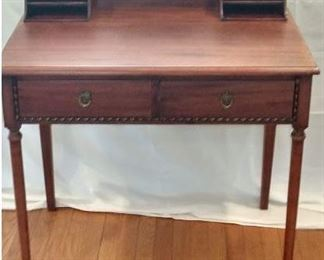 Writing Desk - Made by J.K. Rishel Furniture Co, Williamsport, Pa.