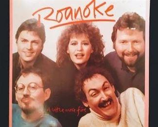 "Record Albums, including ""Roanoke"""