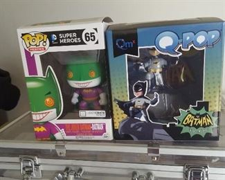 POP Super Heroes and Q-Pop  Batman and others mint in box